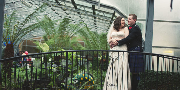 Nathan & Gillian's Victorian Garden Wedding
