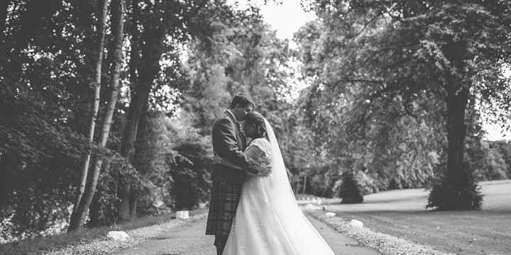 Ardoe House Hotel Wedding - Clare + James