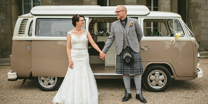 Scottish Yurt Wedding - Pamela + Ross